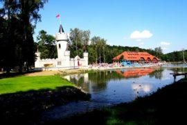 dmuchaniec 1 Zaginione Miasto Rosenau cennik dojazd opinie