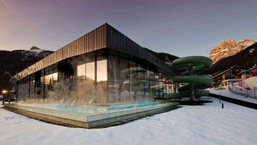 park wodny Dolaondes Canazei Dolomity Włochy opinie