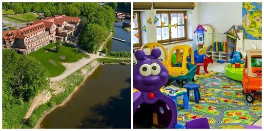 dolina charlotty hotel na wakacje z dzieckiem 2018 pakiety rodzinne basen plac zabaw jezioro koncerty świat bajek