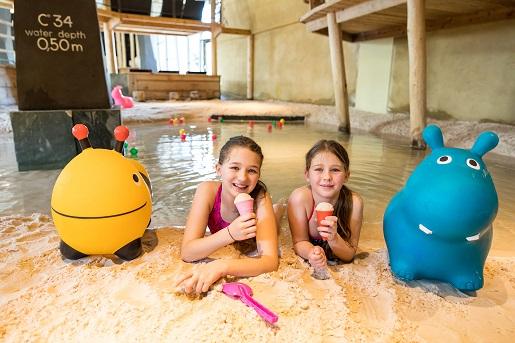 dolomity z basenem dla dzieci noclegi camping atrakcje