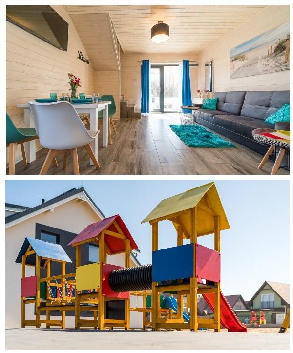 domki na wakacje z dzieckiem nad morzem 2019