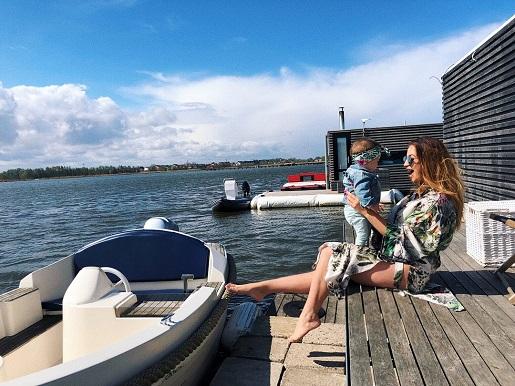 domki na wodzie Mielno z dzieckiem atrakcje opinie