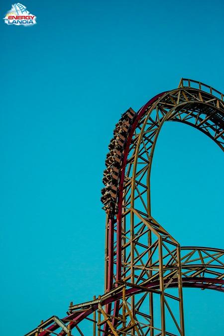 drewniany rollercoaster Energylandia Zator atrakcje 2019 otwarcie