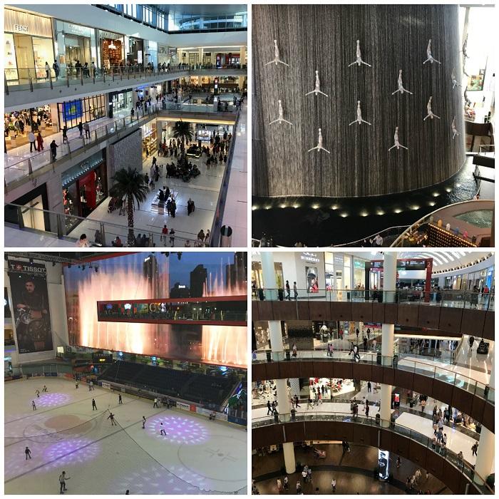 dubai mall atrakcje dla dzieci lodowisko centrum handlowe opinie zima