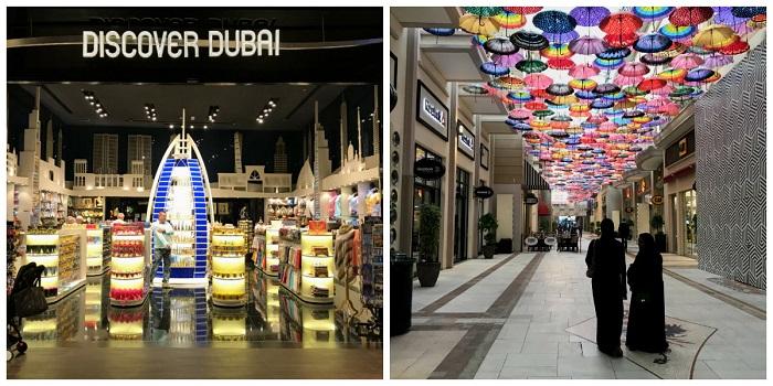 dubaj mall centrum handlowe atrakcje _ferie zimowe w Dubaju 2018