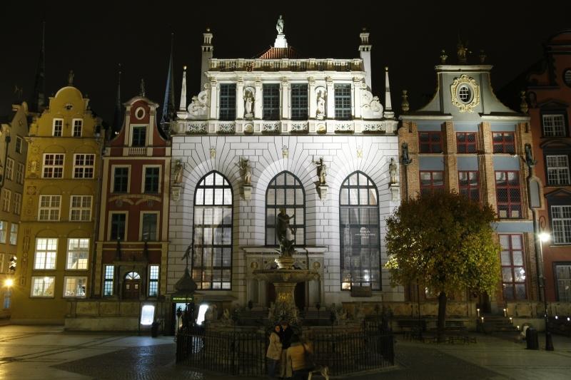 Dwór Artusa Długi Targ opinie zabytki Gdańsk
