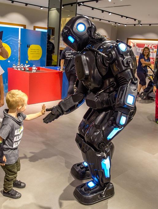 dzieci robot wystawa robopark gliwice cennik opinie