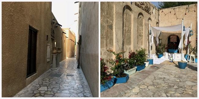 dzielnica Bastakiya stary Dubaj atrakcje restauracje 1