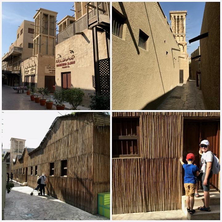 dzielnica Bastakiya stary Dubaj zwidzanie opinie atrakcje 1