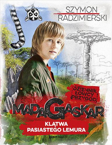 dziennik-lowcy-przygod-madagaskar-klatwa-pasiastego-lemura-książka szymon radzimierski