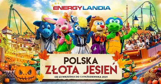energylandia godziny otwarcia złota jesień październik