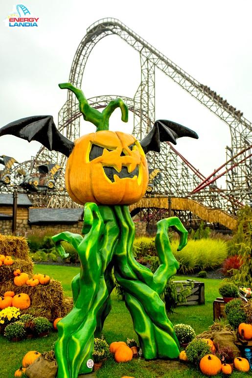 energylandia halloween atrakcje dekoracje promocja bilety