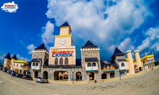 największy rodzinny park rozrywki w Polsce Energylandia