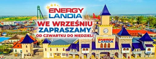 energylandia zator nowy kalendarz otwarcia jesień
