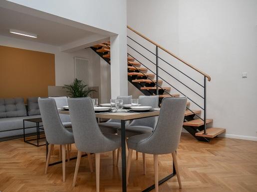 ermine suites kuchnia kraków noclegi dla rodzin