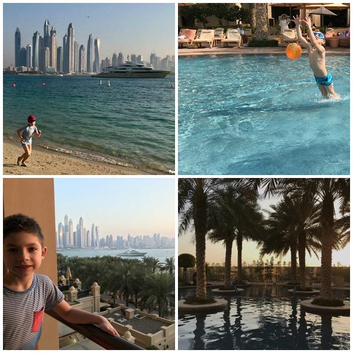Palma Jumeirah fairmont the palm dubaj hotel przyjazny dzieciom opinie