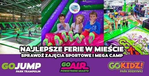 ferie gokidz krakow 2021 atrakcje dla dzieci