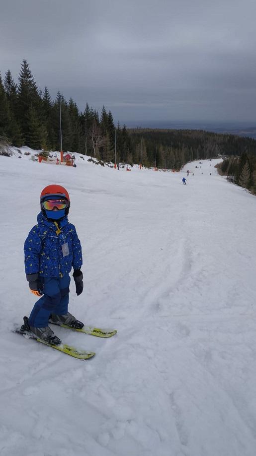 narty ferie z dzieckiem swierdadow zdroj opinie stok narciarski