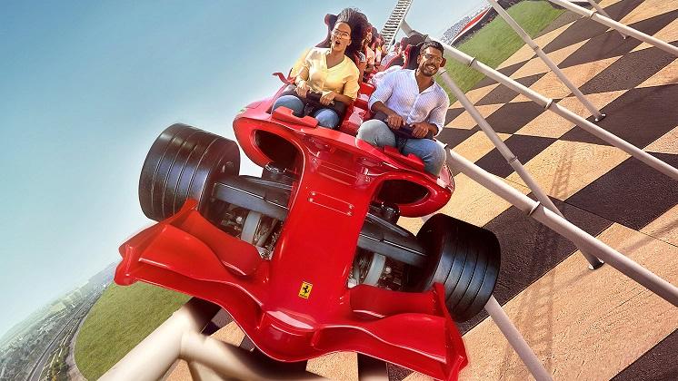 Ferrari World najszybsza kolejka na świecie