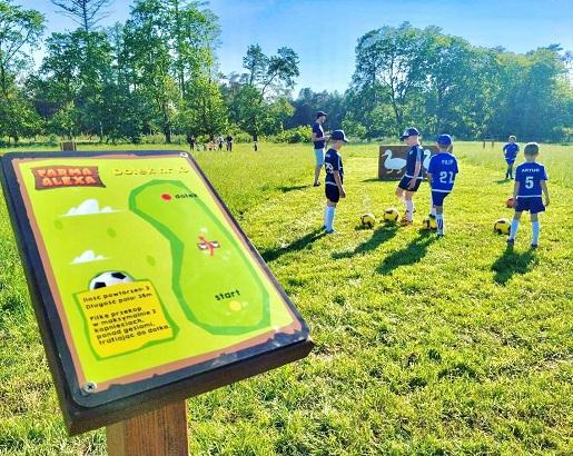 footgolf farma alexa łeba atrakcje dla dzieci