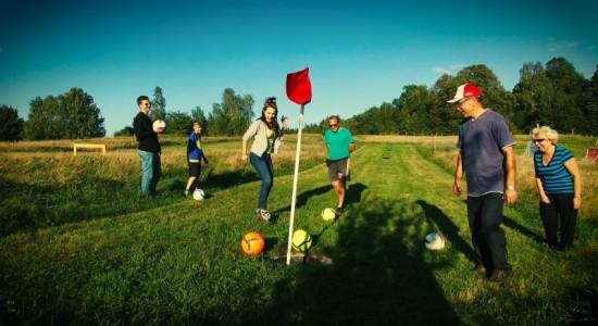 rodzinne atrakcje Kaszuby Footgolf