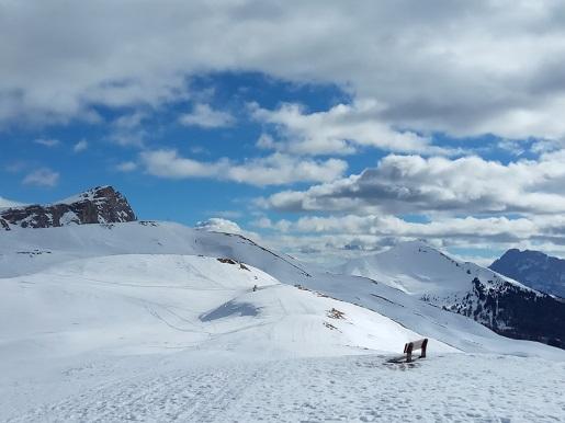 dolina La Val Włochy  ferie zimowe Narty  Alta Badia z dziećmi