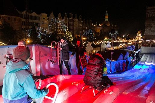 górka lodowa jarmark świąteczny gdańsk program bożonarodzeniowy atrakcje ceny opinie