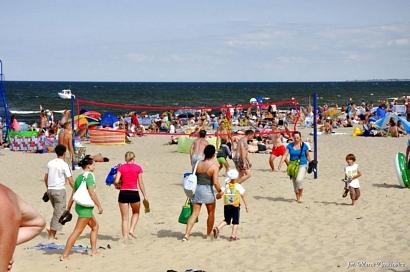 świbno Wyspa Sobieszewska plaża atrakcje Gdańsk