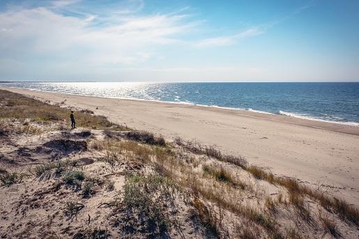 gdzie czyste plaże nad Bałtykiem - małe miejscowośći kameralne nad Bałtykiem -Łazy