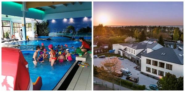 gdzie jesienią nad morze z dzieckiem oferty hotel z basenem