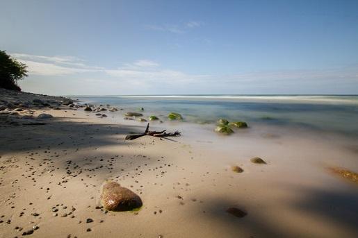 gdzie puste plaże nad bałtykiem - opinie spokojne miejsca Rozewie