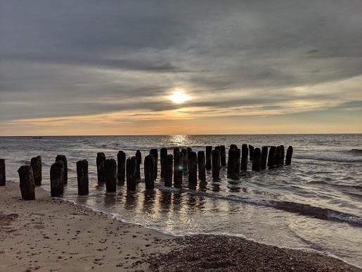 gdzie puste plaże nad morzem nad Bałtykiem - polecane miejscowości Mielenko