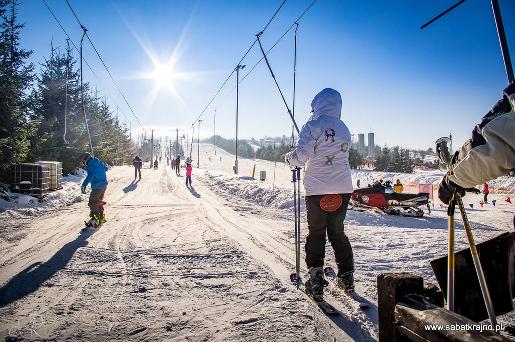 gdzie z dzieckiem stok narciarski atrakcje dla dzieci sabat krajno opinie