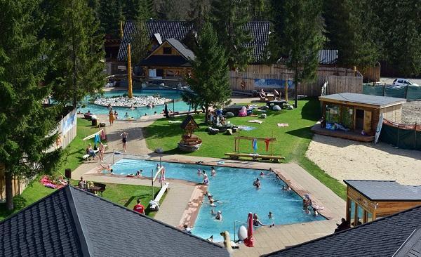 atrakcje dla dzieci baseny termalne Gorący Potok