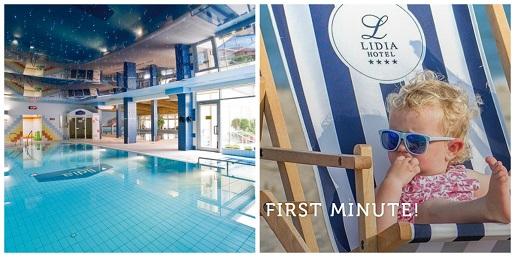 hotel Lidia wakacje 2020 urlop nad morzem pakiety hoteli wypoczynek basen atrakcje dla dzieci