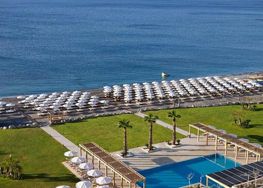 hotel alila grecja rodos wakacje z dziecmi plaza