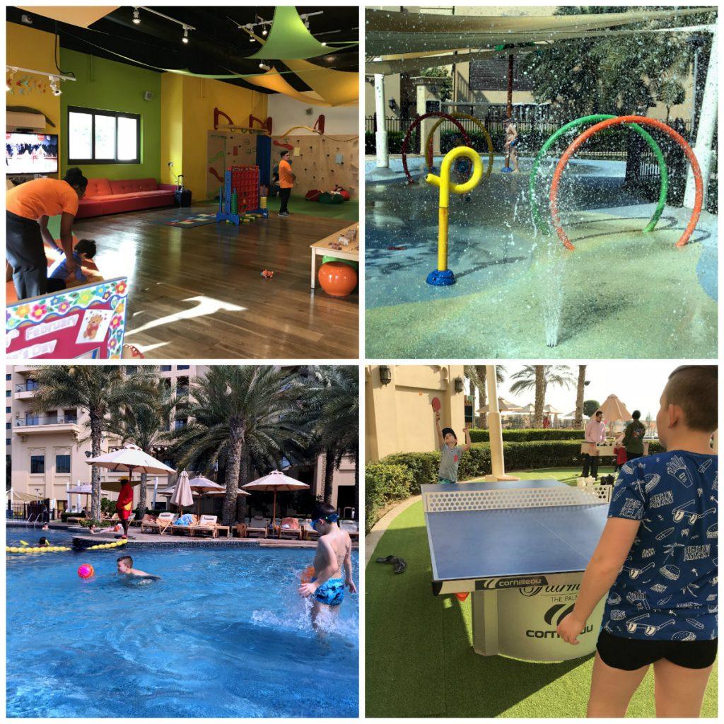 hotel dla dzieci Dubaj opinie z aquaparkiem baseny