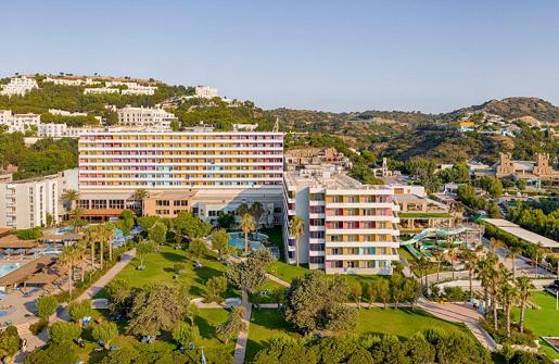 hotel esperides widok grecja rodos wakacje z dziecmi