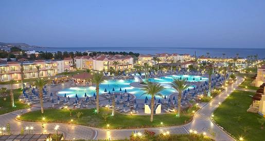 hotel lindos princess grecja rodos wakacje z dziecmi basen opinie widok