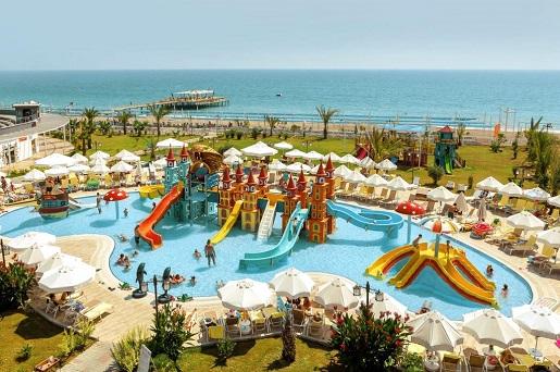 hotel z aquaparkiem Turcja dla dzieci opinie