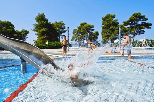 hotel z atrakcjami dla dzieci Chorwacja opinie wakacje dojazd własny