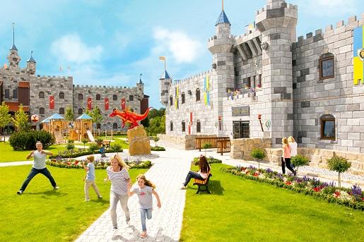 hotel zamek LEGOLAND Castle noclegi