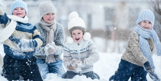 Zamek Ryn ferie z dzieckiem zima atrakcje dla dzieci