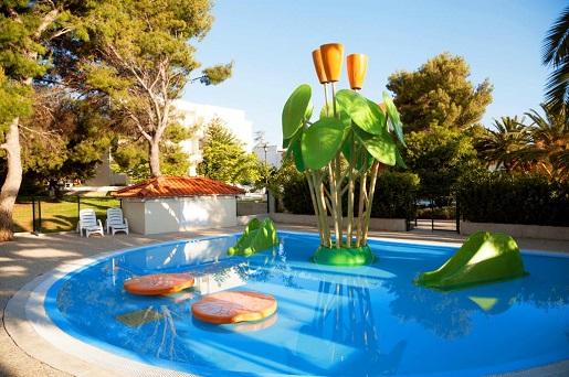 hotele z atrakcjami dla dzieci Chorwacja wakacje 2018 gdzie