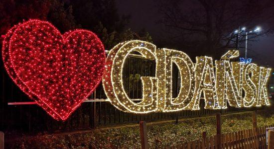iluminacje park oliwski Gdańsk świąteczne oświetlenie 2019 2020