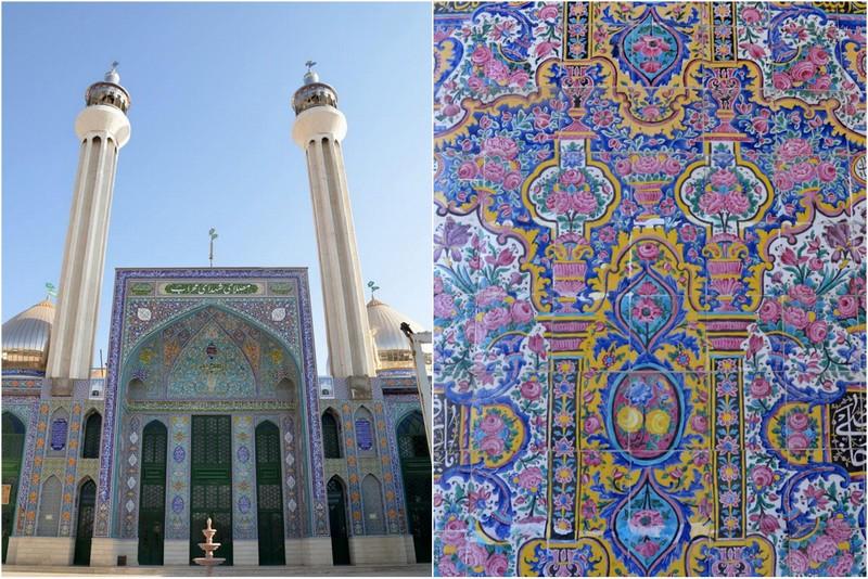 jameh mosque Iran zwiedzanie atrakcje opinie