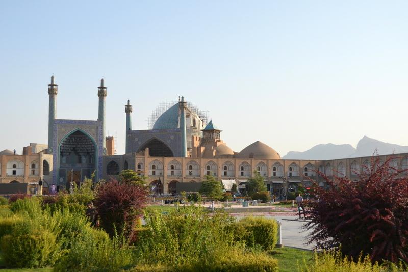 Iran meczet piątkowy - zwiedzanie z dzieckiem