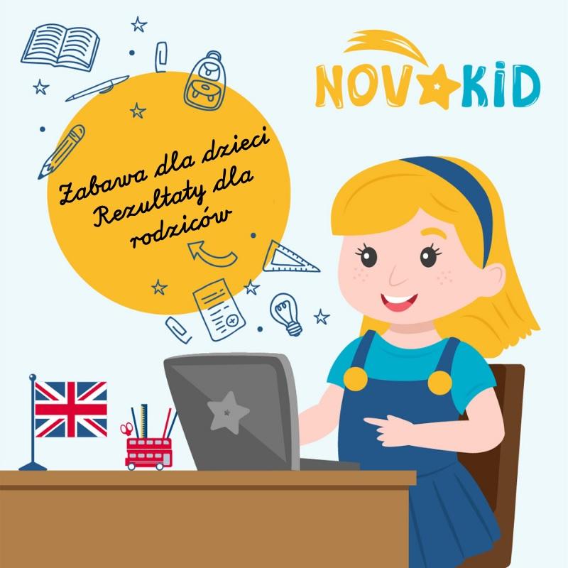 język angielski dla dzieci online novakid opinie bezpłatne