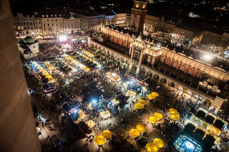 Jarmark Bożonarodzeniowy Kraków termin opinie atrakcje