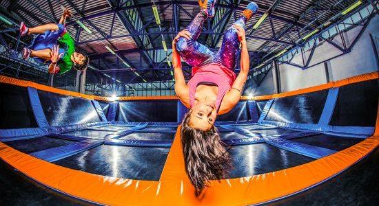 JumpCity trampoliny Gdańsk atrakcje